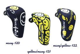 【NEW】PEARLYGATES パーリーゲイツスマイル・スマイルヘッドカバーユーティリティ用カバー053-0184305【20A-B】【smile-smile】