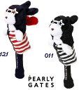 【NEW】PEARLY GATES パーリーゲイツ星条旗ラビット マスコットヘッドカバードライバー用 053-0284016/20D