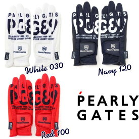 【NEW】PEARLY GATES パーリーゲイツBIG! BIG! OUTロゴ レディースメッシュグローブ 両手用 053-1185402/21B