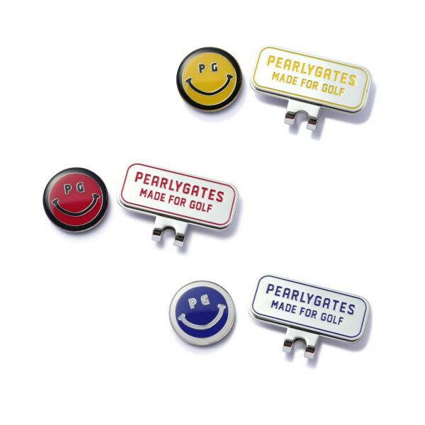 【NEW】PEARLY GATES パーリーゲイツSmile,Smile,Smile! スマイリークリップマーカー 8984052/18A