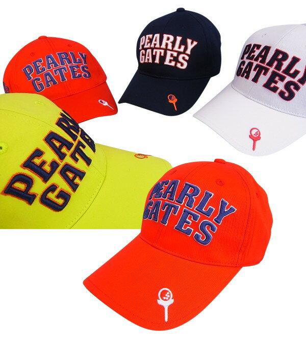 【NEW】PEARLY GATES パーリーゲイツティーUP! フラッグシップツイルキャップ8187506/18B