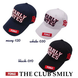 【WEB限定・NEW】PEARLY GATES PGM4G THE! CLUB SMILYパーリーゲイツ クラブスマイリーWEB限定コットンツイルキャップ641-0987010/20B【PG-EDITION】