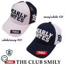 【WEB限定・NEW】PEARLY GATES PGM4G THE! CLUB SMILYパーリーゲイツ クラブスマイリーWEB限定メッシュキャップ 641-0…