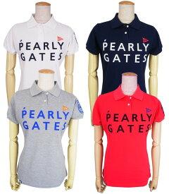 【NEW】PEARLY GATES パーリーゲイツ【30周年記念限定モデル】30th Anniv.I'm PEARLY GATES レディース半袖ポロシャツ=JAPAN MADE= 9160306/19A【30TH】
