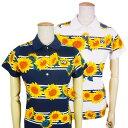 【PREMIUM SALE】Pearly Gates sunflower Smilyパーリーゲイツひまわり柄 レディース天竺ポロシャツ =JAPAN MADE=9160…