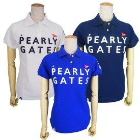 【PREMIUM SALE】PEARLY GATES パーリーゲイツ【30周年記念限定モデル】30th Anniv.I'm PEARLY GATES プライムフレックス レディース半袖ポロシャツ =JAPAN MADE=9260652/19B【30TH】