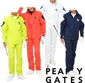 【NEW】PEARLY GATES パーリーゲイツ防水透湿ストレッチ CRAFTEVOメンズ レインウェア 上下セット053-1988403/1989403/21A