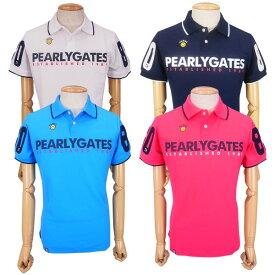 【NEW】PEARLY GATES パーリーゲイツ【30周年記念限定モデル】30th Anniv.ハイパワーストレッチ スマイリー メンズ半袖ポロシャツ =JAPAN MADE=9260751/19C【30TH】
