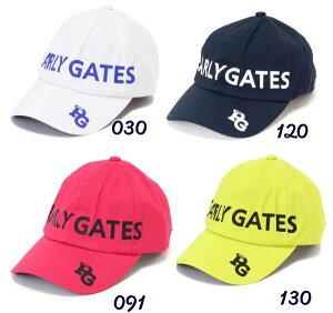 【NEW】PEARLY GATES パーリーゲイツPGラインロゴ 定番系レインキャップ053-1987405/21A