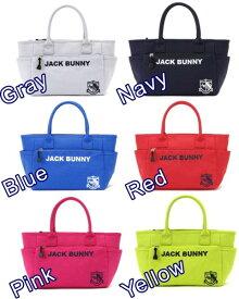 【NEW】Jack Bunny!! by PEARLY GATESジャックバニー JBロゴ&エンブレム刺繍定番系トート型カートバッグ 262-9981101/0981101/19C