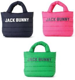 【NEW】Jack Bunny!! by PEARLY GATESジャックバニー 中わたキルティングふわふわカートバッグ 262-9281034/19D