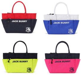 【NEW】Jack Bunny!! by PEARLY GATESジャックバニー JBロゴ&エンブレム バイカラー定番系 トート型カートバッグ262-0981121/20A