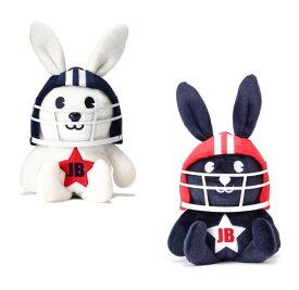 【NEW】Jack Bunny!! by PEARLY GATESジャックバニー PLAY!!アメフト!!JBラビットぬいぐるみヘッドカバードライバー用 262-9284922/19C