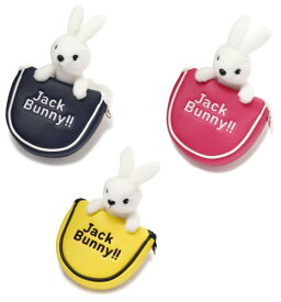 【NEW】Jack Bunny!! by PEARLY GATESジャックバニー ラビットぬいぐるみパターカバー ツーボール・マレットタイプ262-0984134/20A