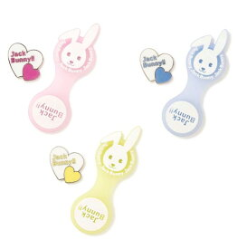 【NEW】Jack Bunny!! by PEARLY GATESジャックバニー ラビットフェイススケルトンシリコンベース ハート💛💛クリップマーカー 262-0184100/20A