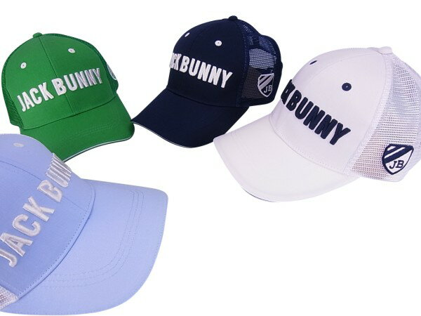 【NEW】Jack Bunny!! by PEARLY GATESジャックバニー ツイル×メッシュ定番系キャップ262-8187304/18A