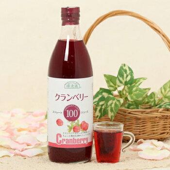 順造選クランベリー100(果汁100%ストレートクランベリージュース)【500ml×3本入】