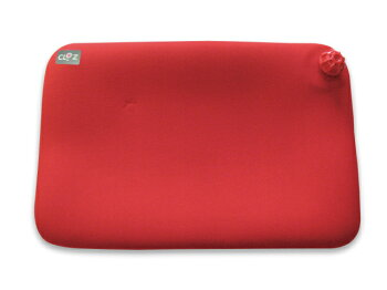【送料無料!】やわらか湯たんぽ座ぶとんタイプ(赤)