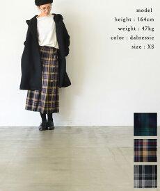 【SALE 30%OFF!】 O'NEIL OF DUBLIN オニール オブ ダブリンLOW WAIST PLEATS WRAP SKIRT LENGTH80cm WITH PIN(全3色)【送料無料】【あす楽対応】【2019aw-p】NOD0853