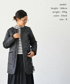 ARMEN アーメンHEAT QUILT NO COLLAR COAT(全3色)【送料無料】【あす楽対応】NAM1651