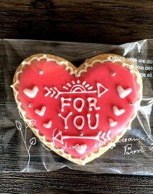 アイシングクッキー☆【ハートクッキー】FORYOU☆誕生日 贈り物 プレゼント【北海道スイーツ】