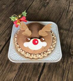 クリスマス アイスケーキ トナカイ【G9】☆ジェラート誕生日に・・・毎日が記念日☆バースデー、贈物、プレゼント、クリスマス、ジェラートケーキ、ジェラートアイスケーキ【北海道スイーツ】クリスマスケーキ、アイスケーキ、誕生日