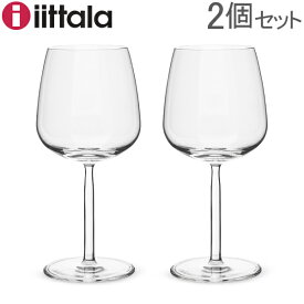 最大1400円クーポン イッタラ ワイングラス センタ 6.7 x 19 × 7.8 北欧ブランド インテリア 食器 デザイン お洒落 レッドワイン 2個 クリア iittala Senta RED WINE 2 set