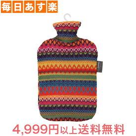 ファシー 湯たんぽ Fashy 湯たんぽ 2L Hot water bottle with cover in Peru design 6757 [4,999円以上送料無料]