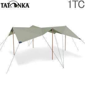 タトンカ Tatonka タープ Tarp 1 TC 425×445cm ポリコットン 撥水 遮光 2465 サンドベージュ Sand Beige 321 キャンプ アウトドア テント あす楽