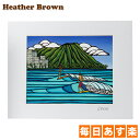 Heather Brown ヘザーブラウン Open Edition Matted Art Prints アートプリント Waikiki Logging ワイキキロギング HB…