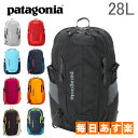 パタゴニア PATAGONIA リュック レフュジオ パック 28L バックパック デイパック 47911 / 47912 EQUIPMENT DAY PACKS REFUGIO PACK レディース