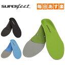 スーパーフィート Superfeet インソール トリムフィット グリーン/ブルー/ブラック CORE ランニング ウォーキング …