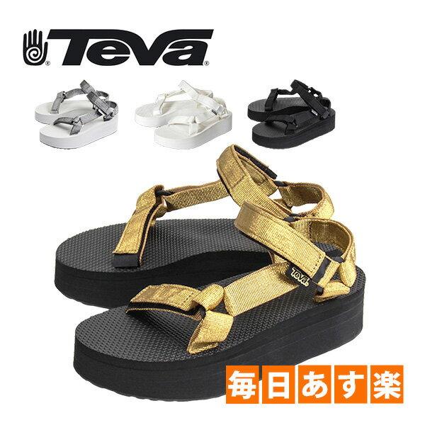 TEVA テバ FOOTWEAR フットウェア W FLATFORM UNIVERSAL フラットフォームユニバーサル 1008844 ウィメンズ サンダル アウトドア [4999円以上送料無料]
