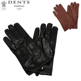 最大1400円クーポン デンツ Dents 手袋 メンズ レザー グローブ Mendip ヘアシープ 羊革 革 シープスキン ラム 防寒 上質 5-1510 Gloves あす楽
