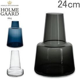 最大1400円クーポン ホルムガード Holmegaard 花瓶 フローラ フラワーベース 24cm Flora Vase H24 ガラス 一輪挿し シンプル 北欧 あす楽