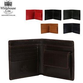 【2000円クーポン適用】 Whitehouse Cox ホワイトハウスコックス Wallet Coin Purse CLOSE 10cm × 11cm OPEN 10cm × 22.5cm S7532 財布 あす楽 キャッシュレス