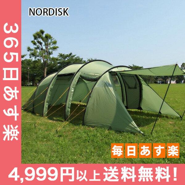 ノルディスク レイサ6 テント 6人用 タープ アウトドア キャンプ ダスティーグリーン 122032 NORDISK Leisure Tents & Tarps Reisa 6 [4999円以上送料無料]