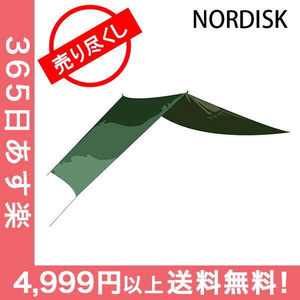 赤字売切り価格ノルディスク NORDISK タープ ヴォス 14 SI 117007 フォレストグリーン Voss 14 SI Forest Green - incl. guy-ropes キャンプ 雨よけ 日よけ アウトドア [4999円以上送料無料]