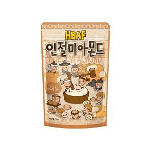 きなこアーモンド 190g 【正規輸入品】【送料無料】ギリム アクレア HBAF 韓国で人気のお菓子・ハニーバターアーモンドシリーズ 韓国 アーモンド ハニーバター