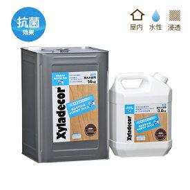 キシラデコールインテリアファイン 各色 3.5Kg 水性/屋内用木部ステイン