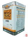 【送料無料】1液ファインウレタンU100 つや有り 白/ホワイト 15kg 日本ペイント ウレタン 弱溶剤塗料