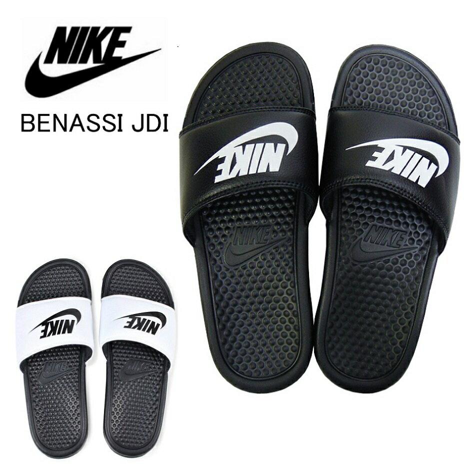ナイキ ベナッシ サンダル NIKE BENASSI JDI 343880 090/100 レディース メンズ スリッパ つっかけ ブラック ホワイト