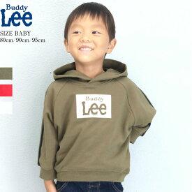 Buddy Lee リー キッズ ドルマン スウェット パーカー トレーナー ロゴ 男の子 女の子 ボーイズ ガールズ 子供服 綿 341183110 メール便可