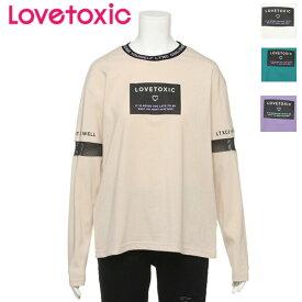 Lovetoxic 衿リブTシャツ/ ラブトキシック(Lovetoxic)8393251 メール便可