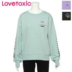 Lovetoxic 裏毛 袖モチーフトレーナー/ ラブトキシック(Lovetoxic)8393238