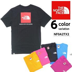 夏もの在庫一掃SALE THE NORTH FACE THE NORTH FACE ノースフェイス レッドボックスティー ロゴ 半袖 Tシャツ S/S NF0A2TX2 S/S RED BOX TEE カットソー 【メール便可】