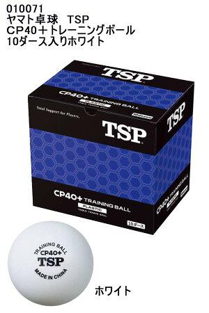 TSPCP40+トレーニングボール10ダース入りホワイト010071