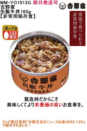 缶飯牛丼160g【非常用保存食】MM-YO1013G