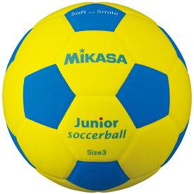 品番:SF3J-YBL【ミカサ】スマイルサッカー軽量3号スマイルボール(EVA)