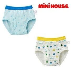 mikihouse/ミキハウス乗り物&トラック ブリーフセット【size90c/100c/110c/120c/130cm】
